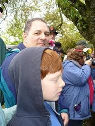 Greg and son Jacob