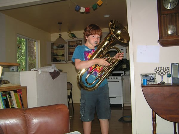 Jacob and the Baritone Horn
