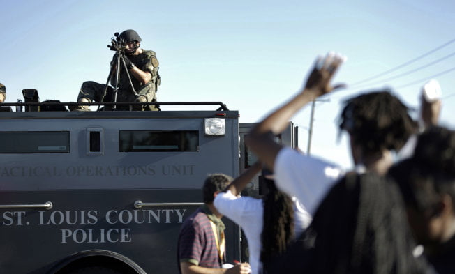 Don't Militarize Our Sheriffs